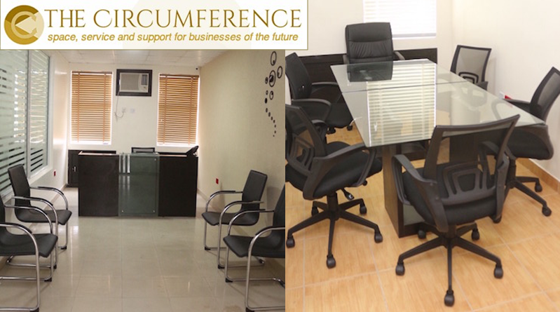 The circumference serviced office spaces