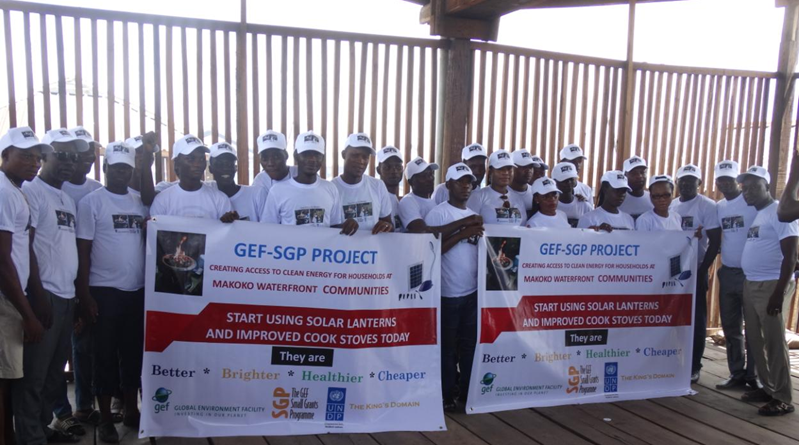 GEF SGP and UNDP sponsored clean energy awareness program in Makoko