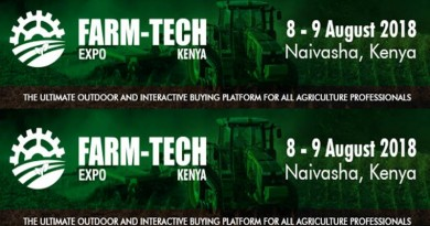 Farm-Tech Expo Kenya takes Kenya's agriculture sector to the next level in 2018