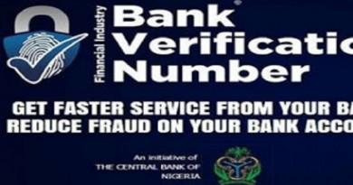 BVN bank verification number
