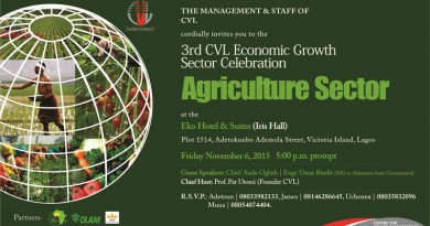 CVL Agric Sector Celebration