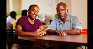 Ongair co-founders Trevor Kimenye and Charles Gichuki