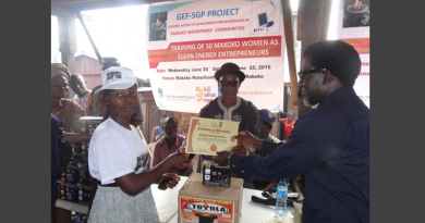 GEF-SGP, UNDP and King's Domain women training on clean energy entrepreneurship in Makoko