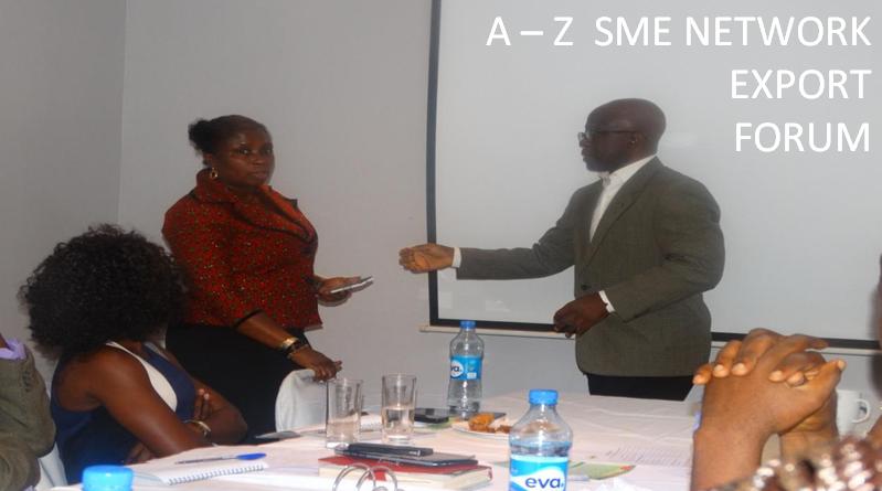 A Z SME NETWORK EXPORT FORUM