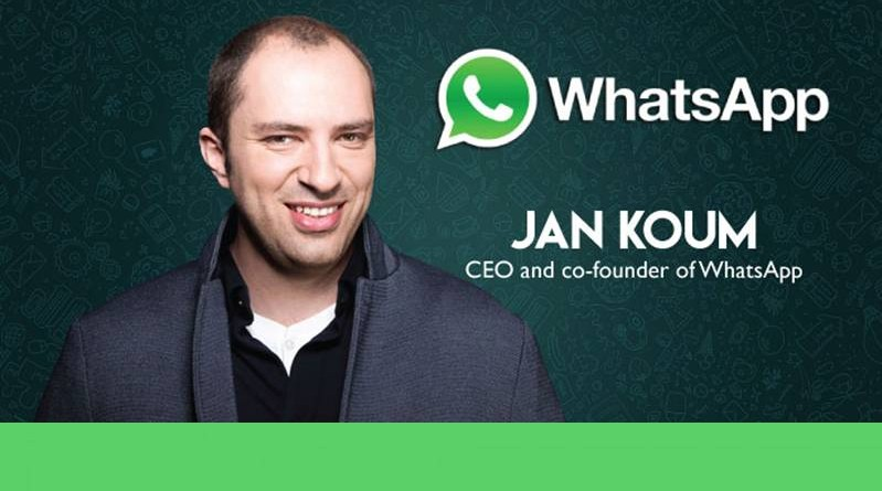 jan koum whatsapp ceo