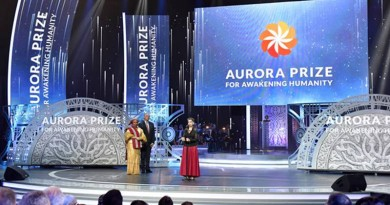 Applications Open for 2019 Aurora Prize for Awakening Humanity!