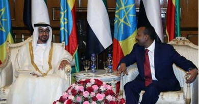 UAE TO GIVE ETHIOPIA $1 BILLION USD