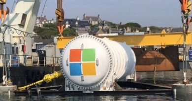 microsoft undersea data centre