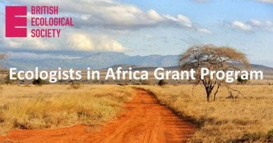 Ecologists in Africa grant program
