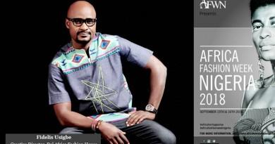 FIDELIS USIGBE AFWN2018 Designer Spotlight : Del Africa Fashion House