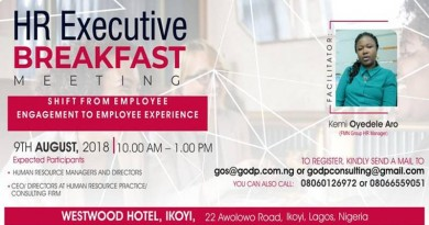 HR EXECUTIVE BREAKFAST MEETING