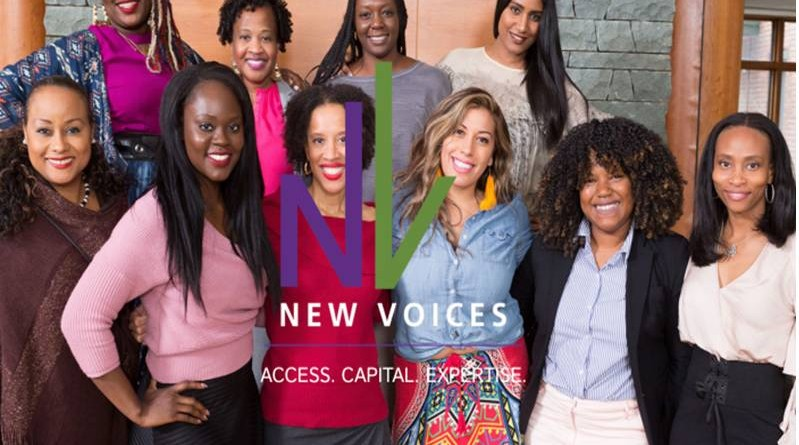 NEW VOICES FUND for women FOUNDERS of color