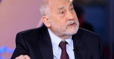 Nobel prize-winning economist and Columbia University professor Joseph Stiglitz