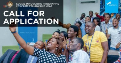 SOCIAL INNOVATORS PROGRAMME 2018 19 Fellowship and Awards