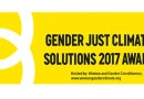 Apply for the 2018 Gender Just Climate Solutions Awards