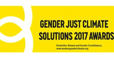 gender just climate solutions awards