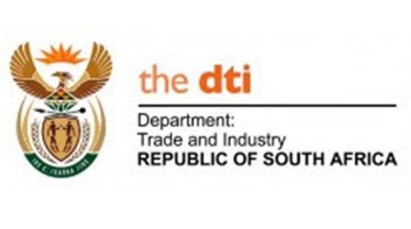 the DEPARTMENT OF TRADE AND INDUSTRY REPUBLIC OF SOUTH AFRICA