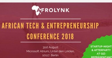 AFRICAN TECH AND ENTREPRENEURSHIP CONFERENCE AFROLYNK 2018