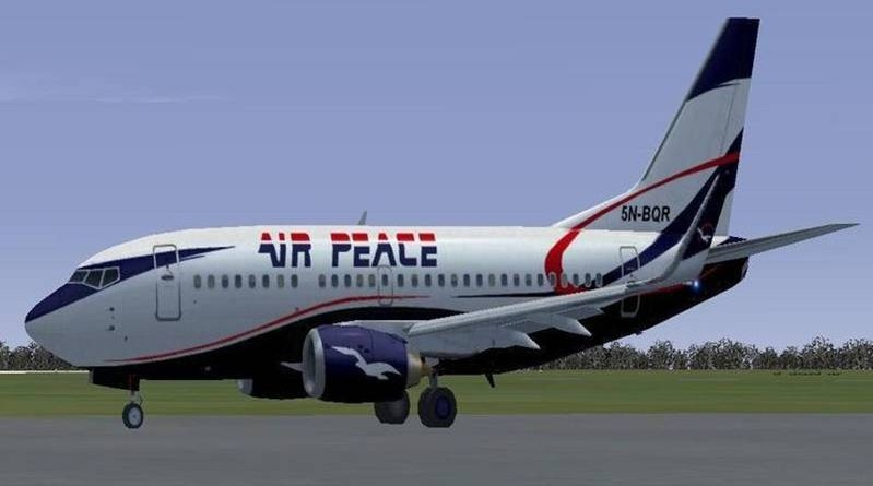 AIR PEACE ACQUIRES B777-300 AIRCRAFT