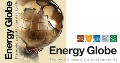 ENERGY GLOBE AWARD FOR SUSTAINABILITY