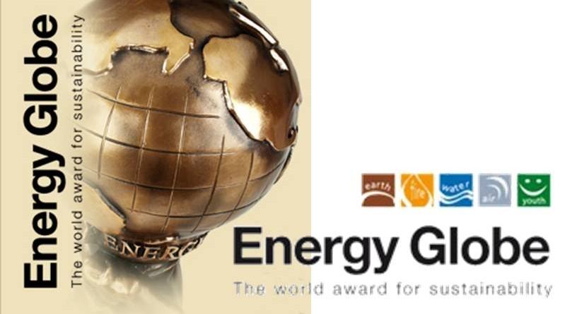 ENERGY GLOBE AWARD FOR SUSTAINABILITY