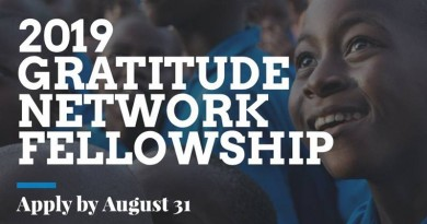 GRATITUDE NETWORK FELLOWSHIP