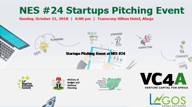 Startups Pitching Event at NES #24