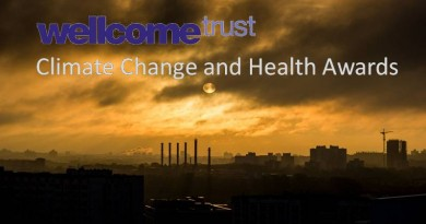 climate change and health awards