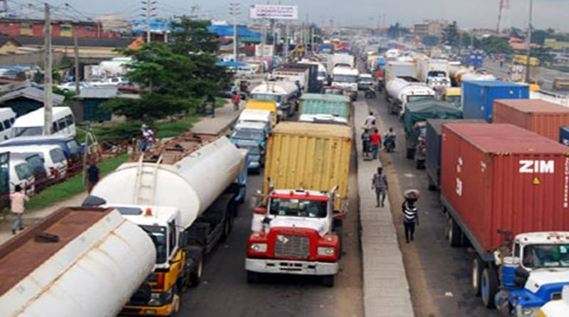 truck menace in lagos