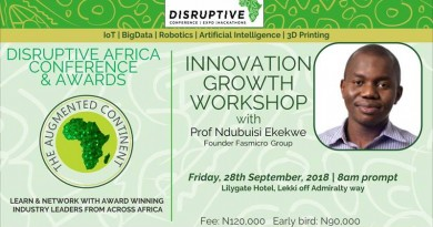 DISRUPTIVE AFRICA CONFERENCE AND AWARDS