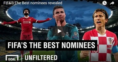 FIFA BEST PLAYER AWARD 2018