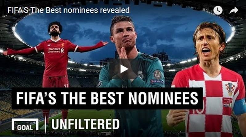 FIFA BEST PLAYER AWARD 2018