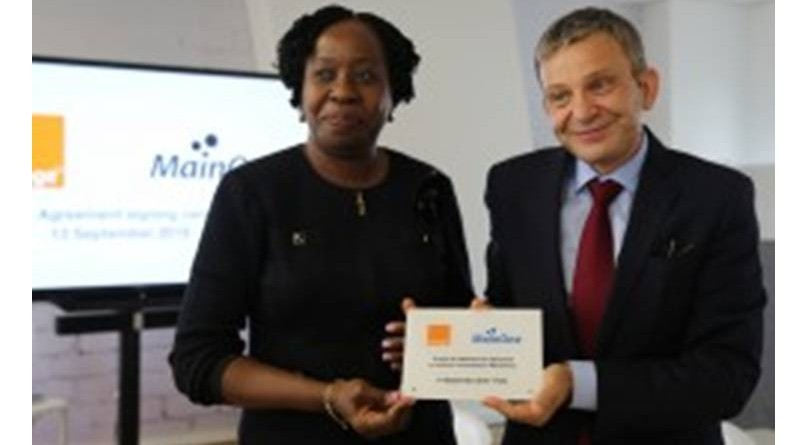MAINONE AND ORANGE SIGN DEAL