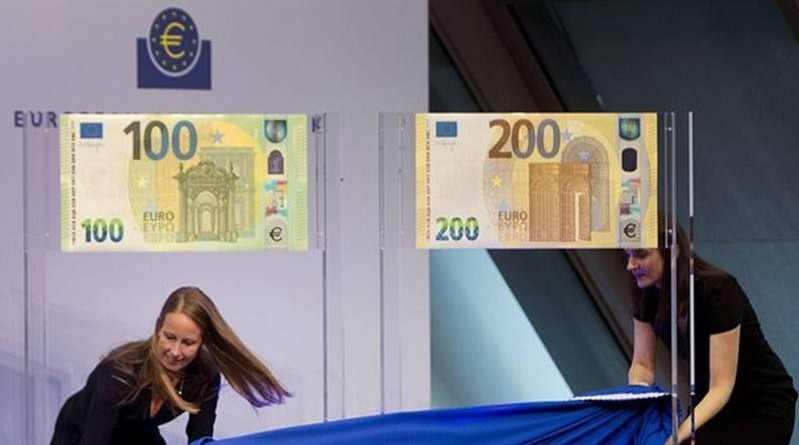 new Euro €100 and €200 bank notes