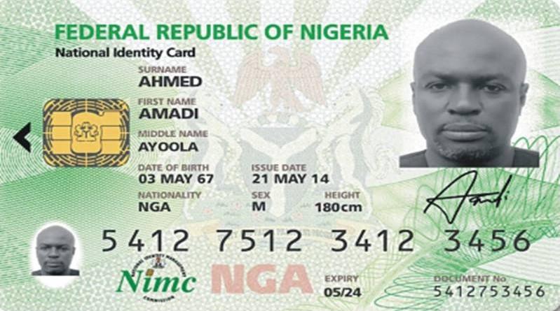 NATIONAL IDENTITY CARD NIGERIA