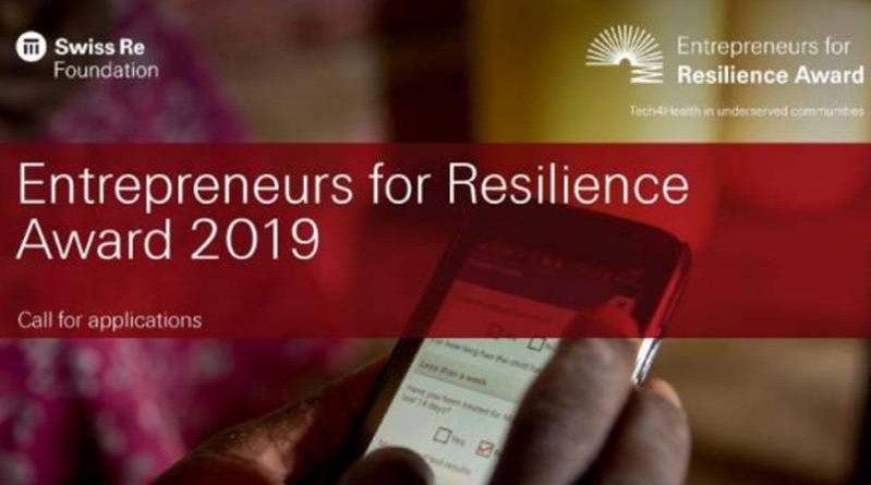 Entrepreneurs for Resilience Award