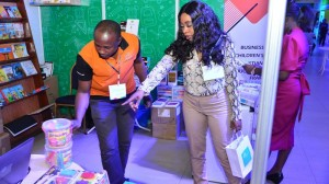 Exhibitors and Visitors at Union Bank's Edu360 Education Fair in Lagos