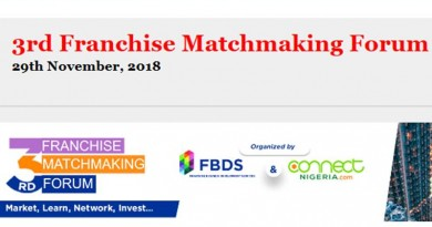 The 3rd Franchise Matchmaking Forum Holds on November 29 in Lagos