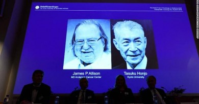 NOBLE PRIZE WINNERS IN MEDICINE
