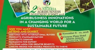 US-NIGERIA AGRIBUSINESS INVESTMENT FORUM