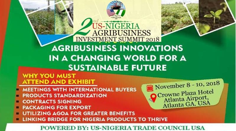 US-NIGERIA AGRIBUSINESS INVESTMENT FORUM