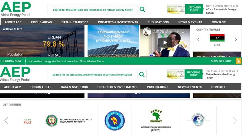 AFRICAN ENERGY PORTAL