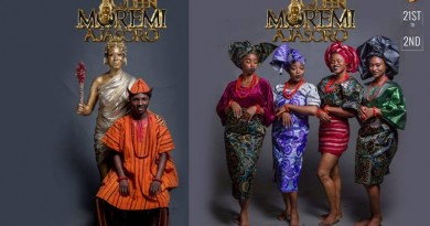 Casts of Queen Moremi The Musical