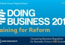 Ease of Doing Business 2019  Ranking of 190 Economies