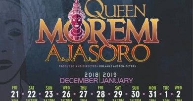 QUEEN MOREMI 'THE MUSICAL'