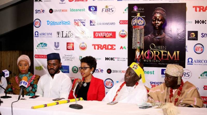 queen moremi the musical commissioned