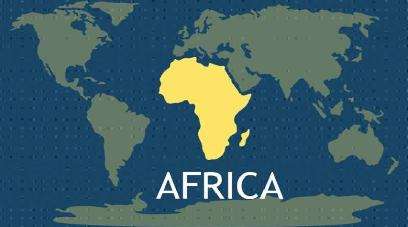 AFRICA - MAP OF
