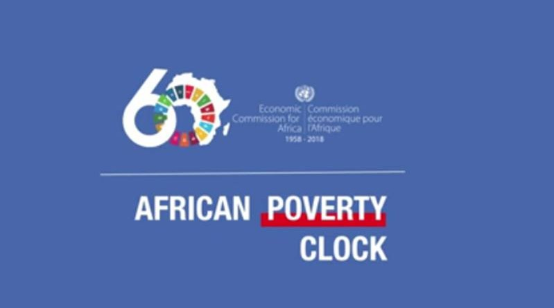 AFRICAN POVERTY CLOCK