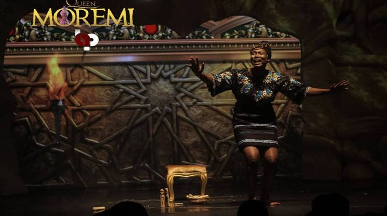 QUEEN MOREMI THE MUSICAL HITS THE STAGE