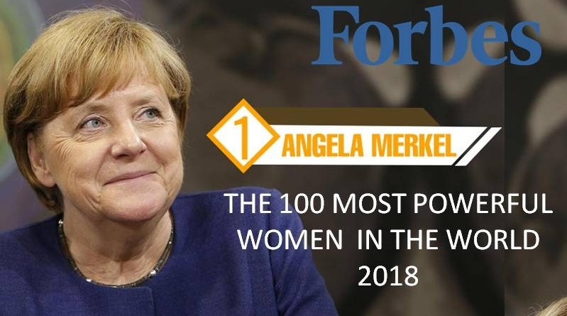 THE 100 MOST POWERFUL WOMEN IN THE WORLD 2018